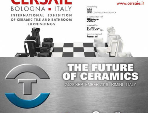 Cersaie/Tecnargilla 2018…. Incontriamoci in fiera!!